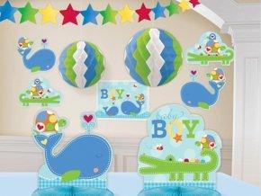 Dekoračná zostava 1.narodeniny Baby boy