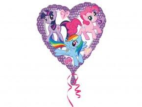 eng pl My Little Pony Heart Foil Balloon 43 cm 1 pc 31131 1