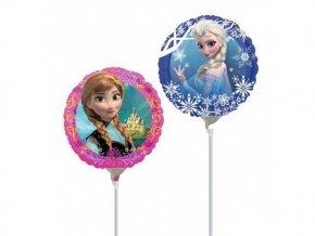 Fóliový balón Frozen na paličke 23cm