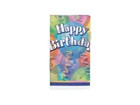 Obrus Brilliant Birthday party 137x213cm
