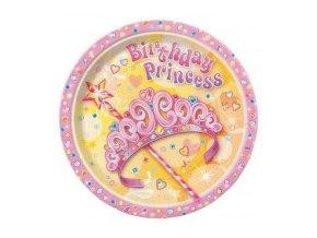 Tanier Birthday Princess 8ks v balení