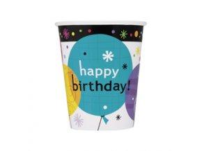 Pohár Breezy Birthday 8ks v balení