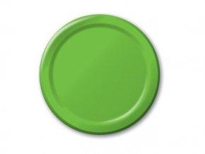 Tanier zelený 8ks v balení, 17,1cm