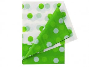 Obrus BODKY zelený 128x181cm