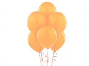 "Latexový balón 12"" pastel broskyňa 6ks v balení"