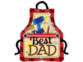 Fóliový balón Best Dad-Najlepší otec 104cm