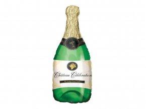 eng pl Bottle od champagne Foil Balloon 104 cm 53266 2
