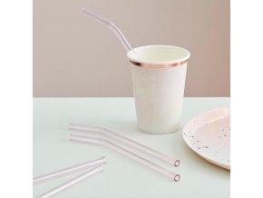 mix 412 pink glass straws min