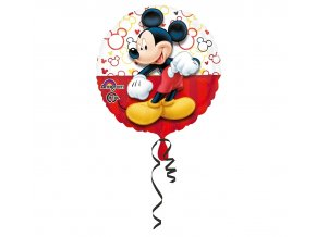 balon foliowy 18 cir mickey mouse portrait