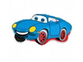 """Fóliový balón Auto modré 24"""""""