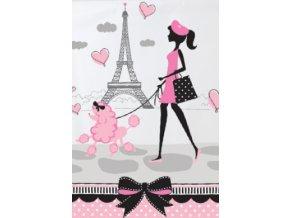 Obrus Paris party 1ks v balení
