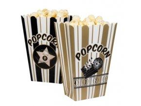 Krabička na popcorn Hollywood 4ks v balení