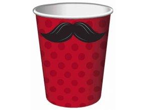 Pohár Movember party 8ks v balení