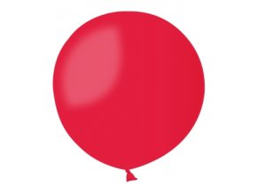 Jumbo balón červený 0,85m