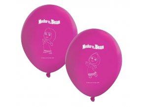 Latexový balón Máša a medveď 8ks v balení