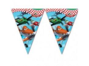 Banner-girlanda vlajková Lietadlá 2,3m