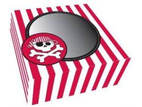 Pirat box na muffinky 2ks v balení