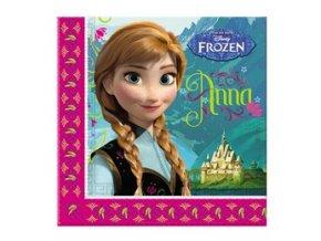 Servitky Frozen 20ks v balení