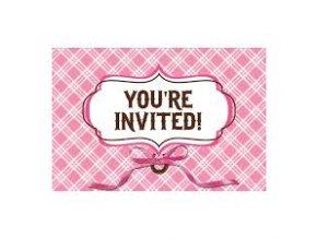 Pozvánky Konik Party 8ks v balení