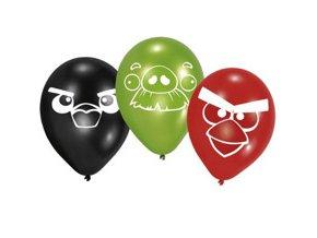 Latexové balóny Angry Birds 6ks v balení