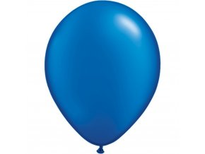 pearl sapphire blue latex balloon 11 inch 28 cm qualatex 43786 pack of 100 pieces
