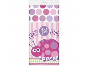 Obrus 1st Birthday party Lienka 137x213cm