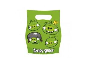 Taštička Angry Birds zelená, 6ks v ablení