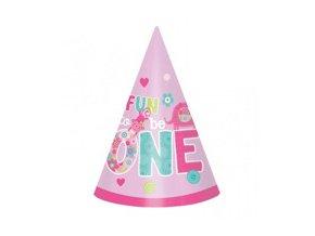 Klobúčiky 1st Birthday Safari Fun to be One 6ks v balení