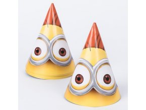 minion party hats pack of 6 a