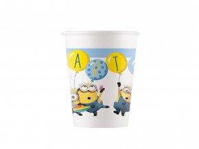 eng pl Minions Paper Cups 200 ml 8 pcs 45632 1