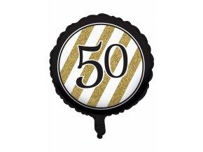 """Fóliový balón Happy Birthday """"50"""""""