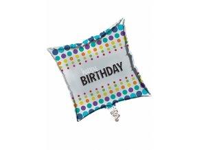 Fóliový balón Happy Birthday POP 45cm