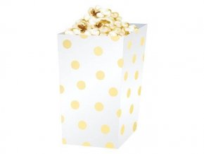 eng pl Gold dots treat boxes 4 pcs 27761 2