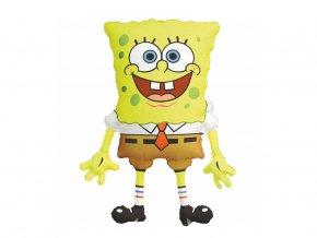 eng pl SuperShape SpongeBob SquarePants Foil Balloon 56x71 cm 38139 2