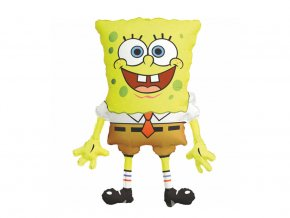 eng pl SuperShape SpongeBob SquarePants Foil Balloon 56x71 cm 38139 2