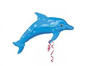Fóliový balón Delfín 96x73cm