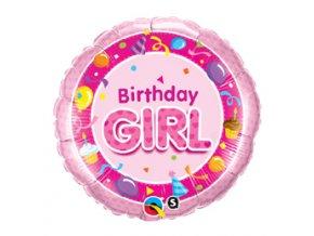Fóliový balń Birthday girl