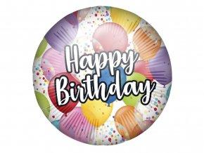 eng pl Happy Birthday Balloons Foil Balloon 46 cm 1 pc 53001 1
