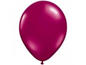 """Latexový balón 16"""" burgundy 1ks v balení"""