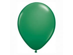 "Latexový balón 16"" tmavo zelený 1ks v balení"