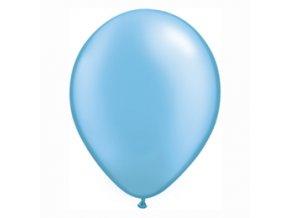 """Latexový balón 14"""" Perletovo azurová 1ks v balení"""