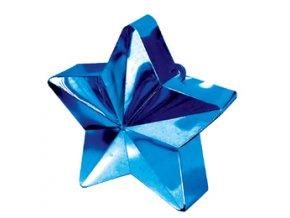 Závažie na balóny Hviezda modrá 170g
