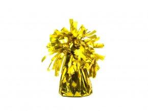 eng pl Foil balloon weight gold 130 g 1 pc 35377 2