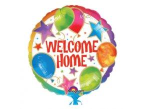 Fóliový balón Welcome Home 45cm
