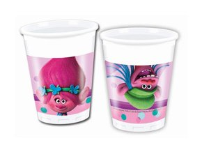 eng pm Trolls Paper Cups 200 ml 8 pcs 22981 1