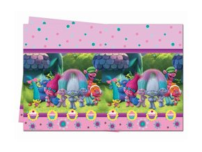eng pm Trolls Plastic Tablecover 120 x 180 cm 1 pc 22983 2