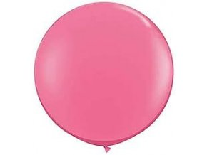 """Latexový balón 15"""" ružový 1ks v balení"""