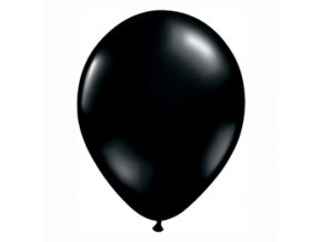 """Latexový balón 14"""" čierny 1ks v balení"""