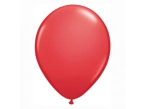 """Latexový balón 15"""" červený 6ks v balení"""