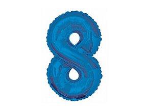 pol pm Balon foliowy cyfra osiem 8 niebieska 86 cm 1 szt 21058 1